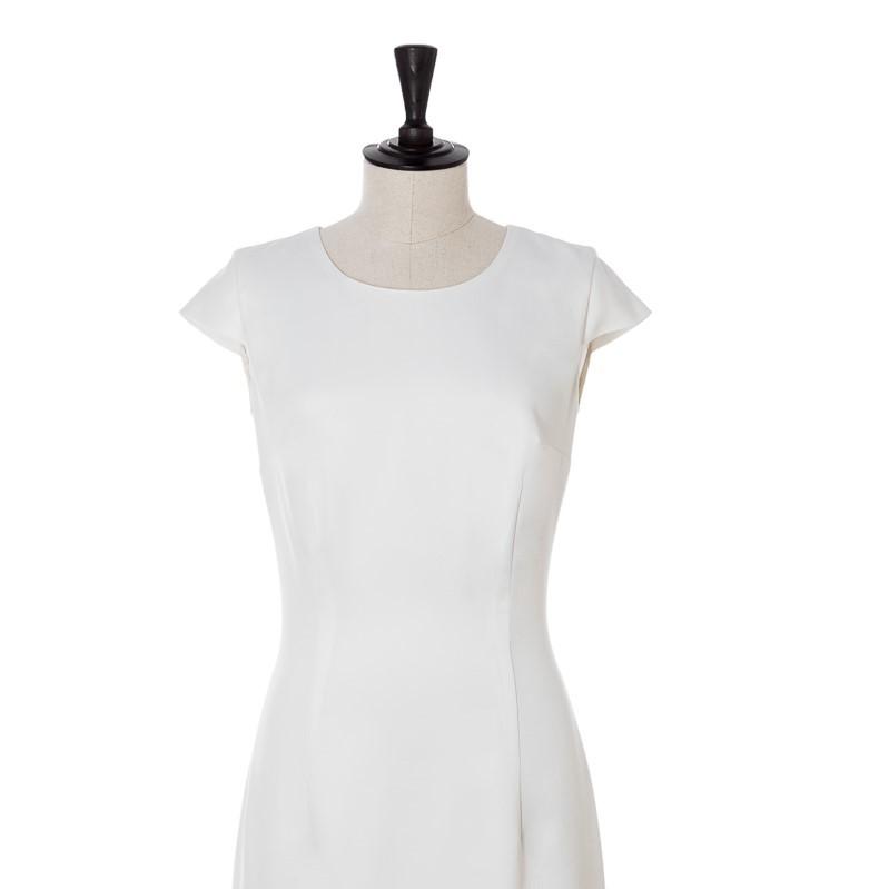 Wit zomer jurkje op maat